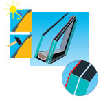 Security Glazing, Class P4, 99% UV Protection